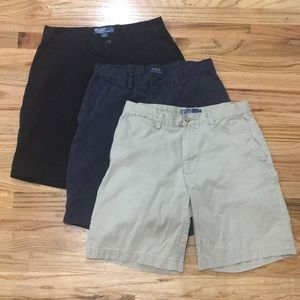 3 Polo Ralph Lauren Shorts